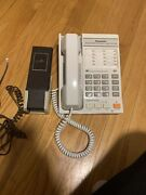 Vintage Cobra Telephone Wp-142 With Wall Hold + Panasonic Kx-t2355 Old Phones