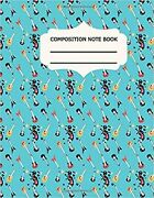 Guitar Tablature Notebook Lovely Gift For Guitar Lover Valentines As Seven L...