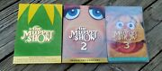 The Muppet Show - Seasons 1, 2 And 3 Special Edition 4-disc Dvd Sets Lot