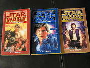 Star Wars Han Solo Trilogy By A C Crispin Paperback Collection 1st Edbooks 1-3