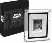 Sold Out New 2017 Niue Star Wars Poster Color Proof Silver Coin
