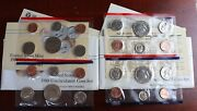 [lot Of 2] 1988 United States Mint Uncirculated Coin Set.