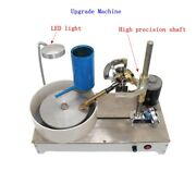 Upgrade 120w Gem Faceting Machine Jewelry Polisher Jade Flat Grinder 0-1800rpm