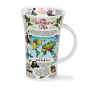 The World Of Tea - Dunoon Ceramic Mug - Fine Bone China - Handcrafted In Engl...