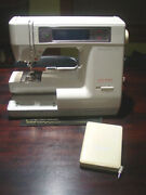 Used New Home Janome Memorycraft 8000 Sewing Embroidery Quilting Machine No Base
