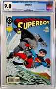 Superboy 9cgc 9.8 Wpdc1st Full Appearance Of King Sharksuicide Squad🔥key