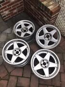 Azev Wheels 4x100 9jx16 Et15 10jx17 Et14 Bmw E30 Vw Golf