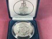 Mayflower 400th Anniversary Silver Reverse Proof Medal Item 20xd In Hand