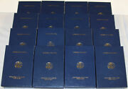 Lot Of 16 Boxandcase 2012 Gold Eagle T1 Prf 4-coin New Unused No Coa/coin