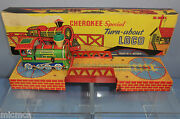 Mettoy Clockwork Cherokee Special Turn-about Loco Vn Mib