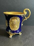 Large Meissen Footed Cup 5andrdquo H X 5andrdquo W