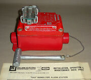 Killark Xas-52 Fire Alarm Station With Breaking Glass Activation Xas52 New