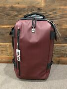 Victorinox Vx Touring 2-in-1 Softside Upright Luggage Beetroot Carry-on 21.7