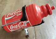 Vintage Italy Reg Bicycling Water Bottle Holder Cycling Coca Cola Coke