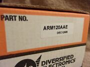 New Surplus In Box Ate Diversified Electronics Arm-120-aae Relay