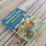 Vintage Betty Crocker Cook Book Dinner For Two 1958 Recipes Spiral Bound 1st
