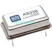 As 338 Ultra High Precision, Low Phase Noise, High-end Audio Crystal Oscillator
