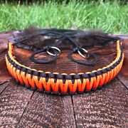 Neon Orange Paracord Turkey Tote Duck Goose Game Carrier Hunting Sling Usa 🇺🇸andnbsp