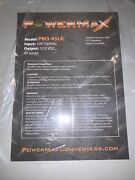Powermax Rv Converter Battery Charger Pm3-45 Amp 120 V Ac To 12 Volt Dc Supply