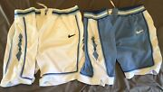 Nike North Carolina Unc Home And Away Shorts Xl/38 Game Style Shorts
