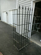 Antique/vintage Pair Wrought Iron Window Fence Guards