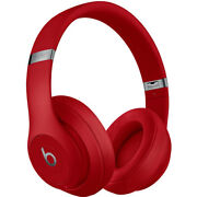 Beats By Dr. Dre Studio3 Wireless Bluetooth Headphones Red / Core
