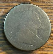 1797 Draped Bust Large Cent Ag Nice Planchet S-137 Below Greysheet Chn