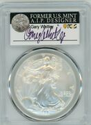 2006-w 1 1 Oz Burnished Silver Eagle Sp70 Pcgs Gary Whitley