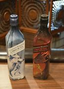 Johnny Walker Game Of Thrones Limited Edition Song Of Fire And Ice Bottles Scotch