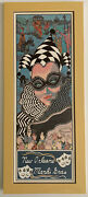 """Mardi Gras New Orleans Signed George Luttrell Music 1996 Litho Print 27""""x11.5"""""""