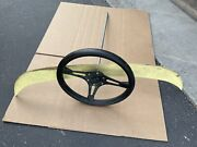 Vintage 12 13 Bmc Mini Cooper Steering Wheel And Assembly