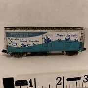 N Scale Freight Car 40' Box Wood Gsvx Gerber's Weathered Bachmann Hk Exc