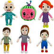 Anime Cocomelon Jjand039s Family Educational Plush Doll Stuffed Toy Kid Birthday Gift