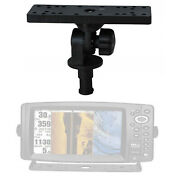 1pc Universal Electronic Fish Finder Mount Holder Base Boat Support Rotating