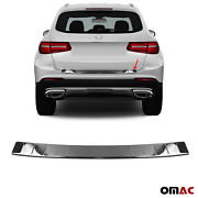 Fits Mb Glc Class X253 2017-2019 Dark Chrome Rear Bumper Trunk Sill Cover Guard