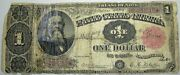 1891 Legal Tender 1 Large Size Note Treasury Lower Grade L@@k ---- ----