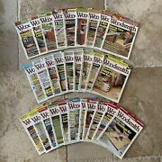 Lot Of 29 Woodsmith Magazine Back Issues Vol 30-34 No. 175-203