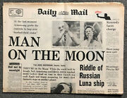 Daily Mail Newspaper - Man On The Moon Newspaper 21/07/69 - Vintage Newspaper