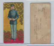 N224 Kinney 1887 Military New York Private Cadet Corps 13th Ngsny