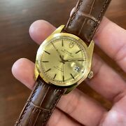 Rolex Tudor Watch Oysterdate 930784 Gold Plated 25 Jewels Automatic