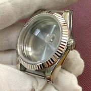 Watch Movement 41mm Stainless Steel Watch Case Sapphire Glass For Original 3135