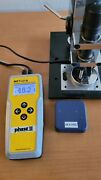 Phase 2 Met-u1a Ultrasonic Hardness Tester Ndt Rockwell Fischer Olympus