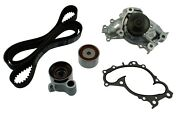 Engine Timing Belt Component Kit Fits 1994-2004 Toyota Avalon Camry Sienna Aisi