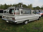 1960and039s Belgium Coachbuilder Funeral Hearse Parade Car Roof Top Display Set .