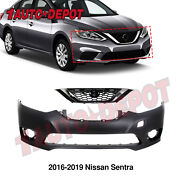 Front Bumper Cover Replacement For 2002-2004 Toyota Camry Primered To1000231