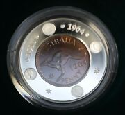 2004 1 1964 Penny 40th Anniversary Of The Last Australian Penny Proof Coin