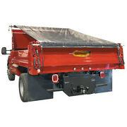 Buyers Products Dtr8022 Aluminum Tarp System - With Mesh Tarp 8 X 22 Ft.