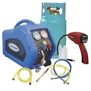 Mastercool 69100-55r - Complete Refrigerant Recovery System With 55100-r