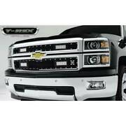 Grille-torch Series Led Light Four - 6 Led Bar Replacement 2 Pc's Black Grille