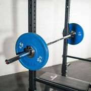 New Titan Fitness 7ft 20kg/45lb Olympic Chrome Barbell, Like Rogue Ships Free